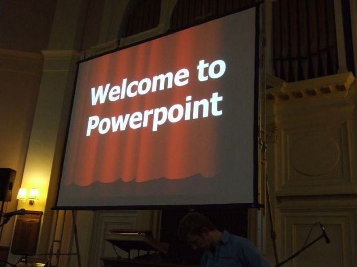 Truth about Powerpointing
